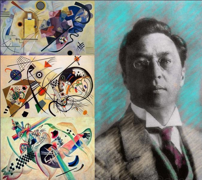 Ce peintre, dont on a fêté le 150e anniversaire de la naissance le 16 décembre 2016, est considéré comme l'auteur de la première œuvre non figurative de l'histoire de l'art moderne. Quel est son nom ?