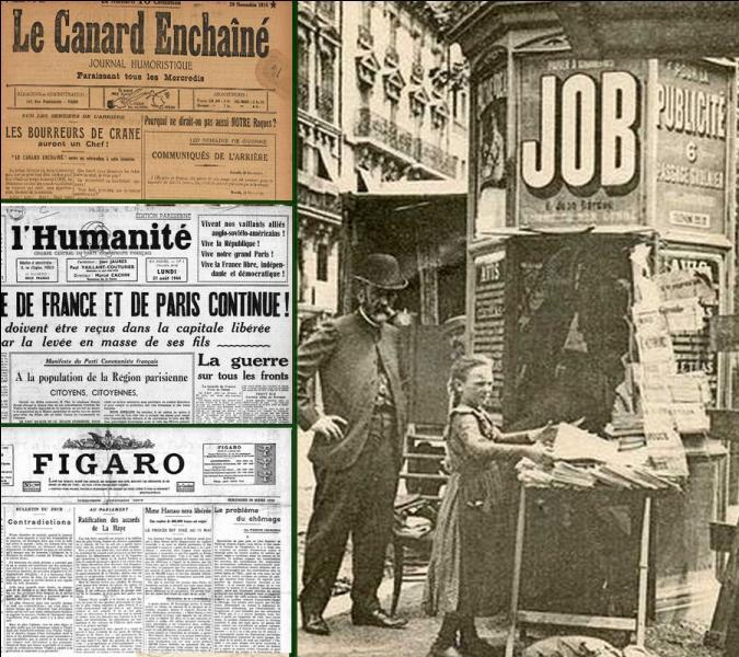 Après une version avortée en septembre 1915, ce journal renaît le 5 juillet 1916, date du début de la version actuelle. Quel est ce journal qui a donc eu en 2016 «100 ans et toutes ses dents» ?