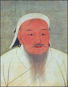 Il est le fondateur de l'Empire mongol, pendant d'Alexandre le Grand. À sa mort il est l'empereur du plus vaste empire contigu de tous les temps