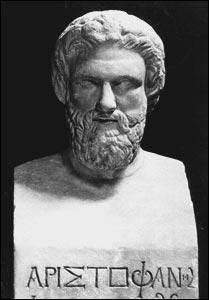 Poète et auteur, il inventa la comédie grecque classique.