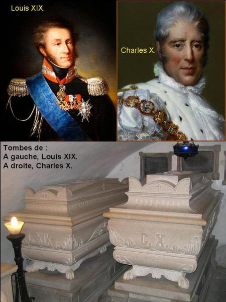 """""""Bon, oublions Louis-Philippe, qui n'a pas été roi de France mais, roi des Français. En sachant cela, serez-vous capable d'indiquer le dernier roi de France ?"""