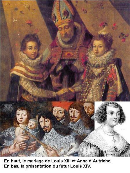 Louis XIII a attendu longtemps avant d'avoir son premier enfant. D'ailleurs, il porte le surnom de « roi chaste ». Il a été marié avec Anne d'Autriche en 1615.Par rapport à son mariage, combien de temps fallut-il attendre pour que l'héritier du trône naisse ?
