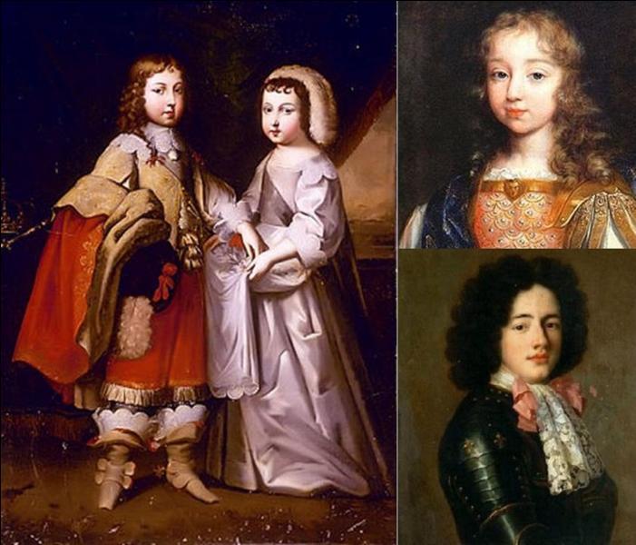 La naissance de Louis XIV a été, suivant la tradition, « miraculeuse ». En effet, le roi fut obligé de rentrer à l'ancien château de Versailles suite à un orage. Il se montra à la hauteur et le petit « Louis Dieudonné » fut conçu. Il deviendra Louis XIV.Est-ce que le roi et la reine eurent d'autres enfants ?