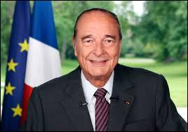 Quand Chirac fut-il au pouvoir ?