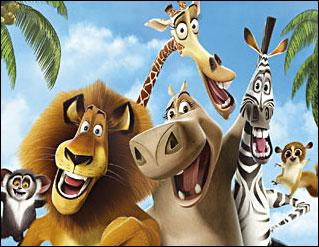 Quizz film d 39 animation madagascar quiz films madagascar - Girafe dans madagascar ...
