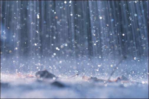 D'où vient la pluie ?
