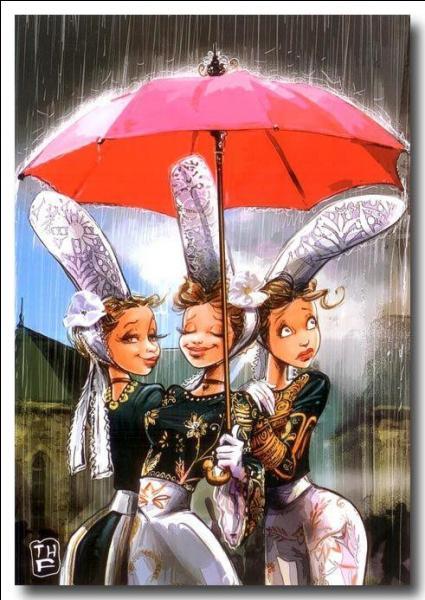 Comment s'appelle la petite pluie fine qui tombe en Bretagne ?