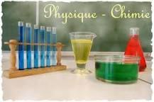 Un peu de physique-chimie 3