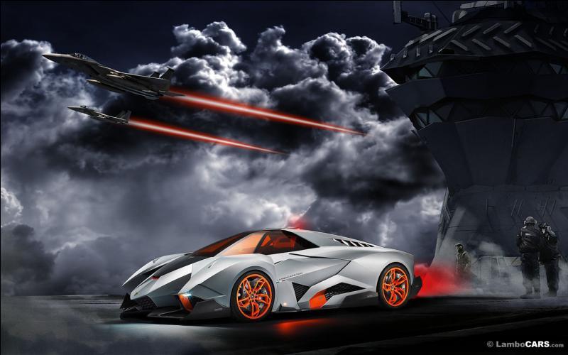 Quel est le nom de ce concept Lamborghini ?