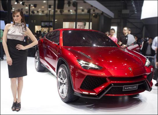 Quel est le nom du concept SUV Lamborghini ?