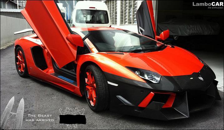 Par qui a été préparée cette Lamborghini ?