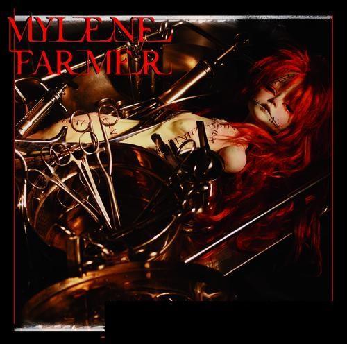 """Septième album de Mylène avec les titres """" Dégénération"""" et """" C'est dans l'air""""."""