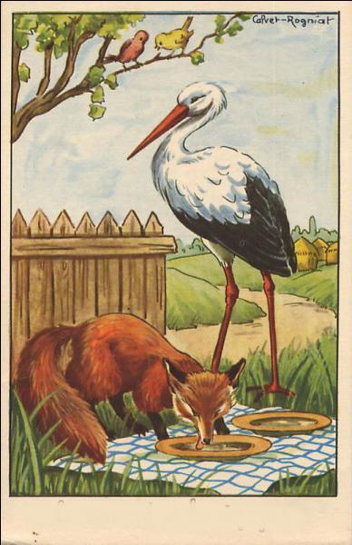 Et nous terminerons par cette dernière illustration. Quelle est la morale de cette fable ?