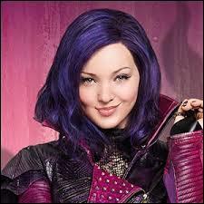 De quelle couleur sont les cheveux de Mal ?