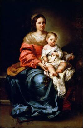 """Qui a peint """"La Vierge au chapelet"""" ?"""