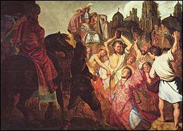 """Qui a peint """"La Lapidation de saint Étienne"""" ?"""
