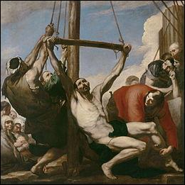 """Qui a peint """"Le Martyre de saint Philippe"""" ?"""