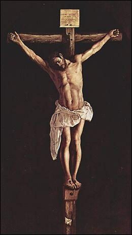 """Qui a peint """"Le Christ en croix"""" ?"""