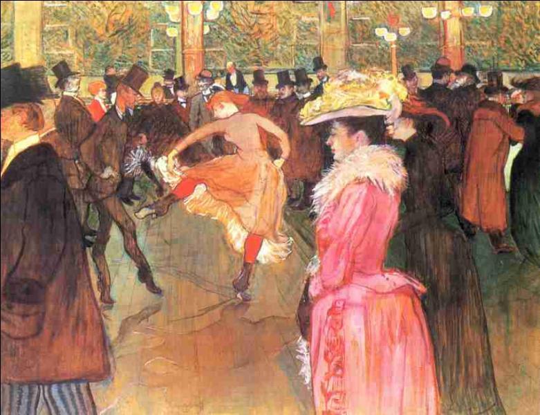 """Qui a peint """"Bal au Moulin rouge"""" ?"""