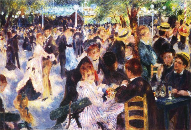 """Qui a peint """"Bal au Moulin de la Galette"""" ?"""