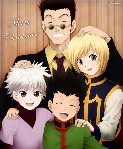 Gon et tous ses amis vous souhaitent un joyeux Noël. De quel manga ces personnages viennent-ils ?