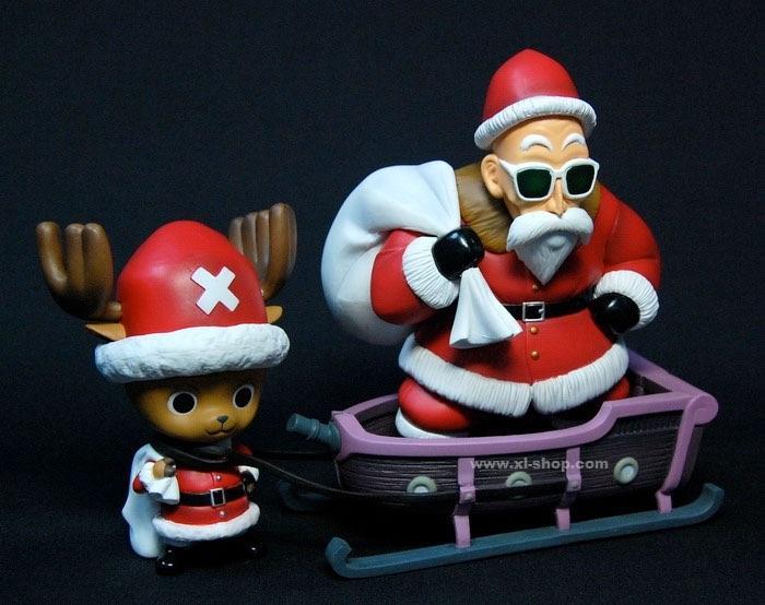 Les héros des mangas fêtent Noël