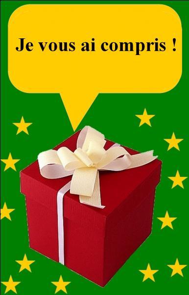 Qui est dans ce cadeau ?