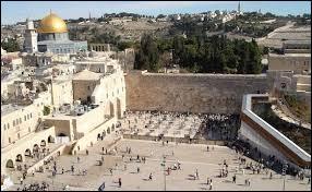 Dans quelle ville faut-il se rendre pour voir le Mur des lamentations ?