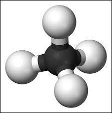 Quelle est la formule chimique du méthane ?