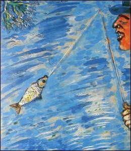De quelle fable s'est inspiré Chagall ?