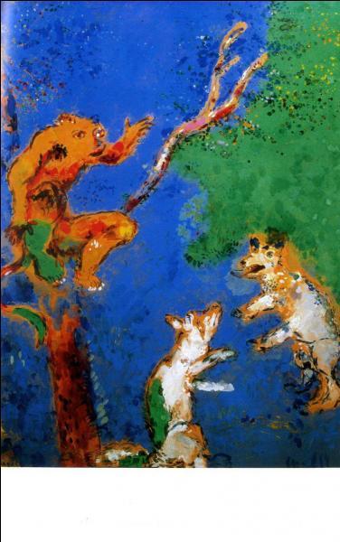Quel est ce tableau, illustrant toujours une fable de La Fontaine ?