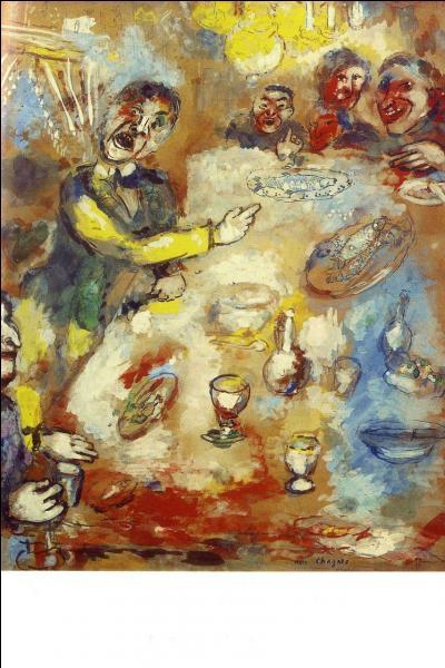 Quelle fable est illustrée par cette toile ?