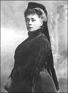 Bertha von Suttner - Cette femme fut la première à recevoir le prix Nobel de la paix. D'où venait-elle ?
