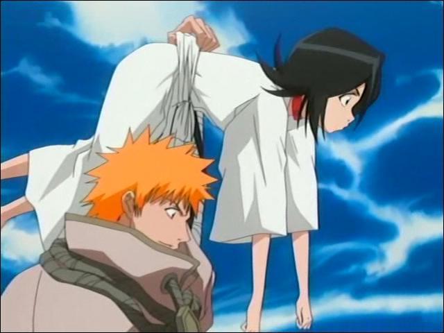 [Arc du sauvetage de Rukia] Qui Ichigo combat-il sur la colline du Sokyoku, une fois Rukia sauvée et emmenée par Renji ?