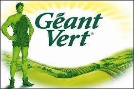 Sur les boîtes de petits pois, vous pouvez voir le Géant Vert. À l'origine, de quelle couleur était ce personnage ?