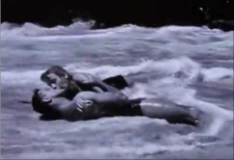 En 1953, cette scène amoureuse fut considérée comme torride. Un grand acteur y tient le premier rôle ; lequel ?