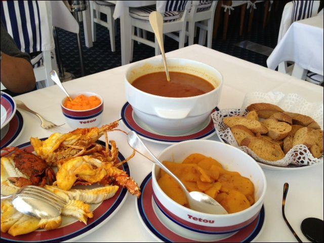 Avant-dernière question concernant non pas la croûte, mais les croûtons. Dans lequel de ces plats sont-ils indispensables, frottés à l'ail et tartinés de rouille ?