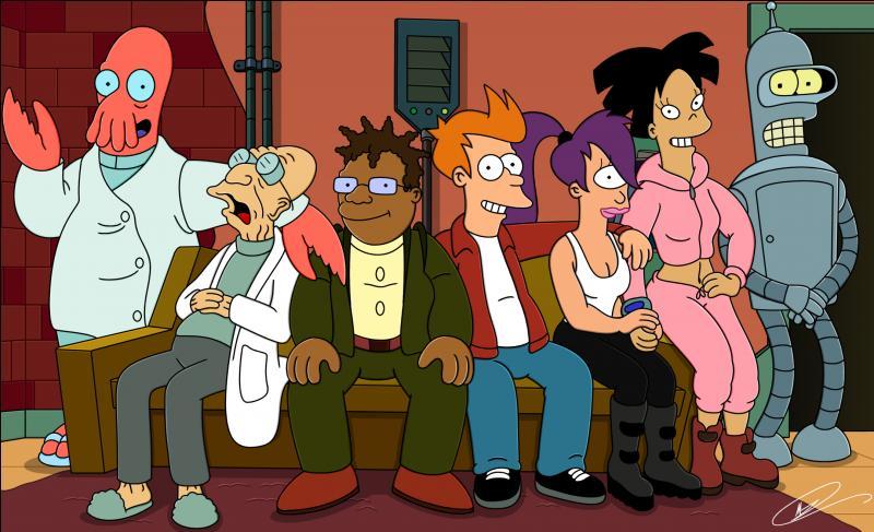 Trouvez le titre de ce dessin animé créé par Matt Groening.