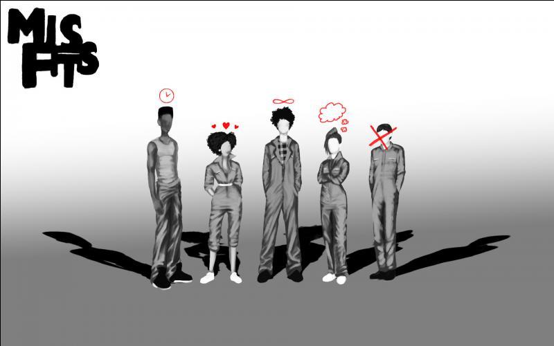 """Quel membre du """"Misfits Original Gang"""" est resté dans la série le plus longtemps ?"""