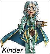 Comment s'appelle le frère du roi Kinder ?