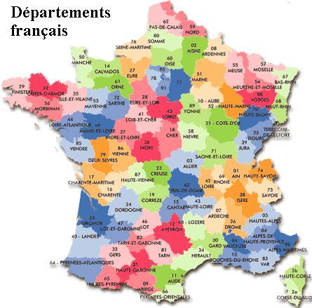 Un département français, un synonyme, un numéro !