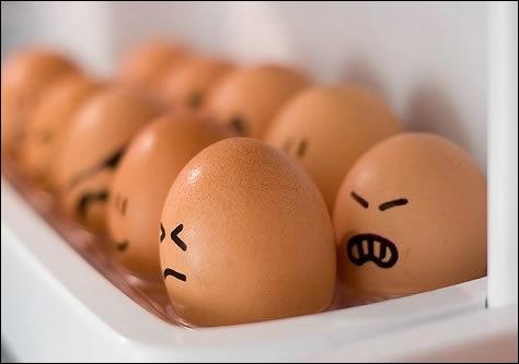 Les œufs cuits contiennent six fois plus de protéines que les œufs crus.