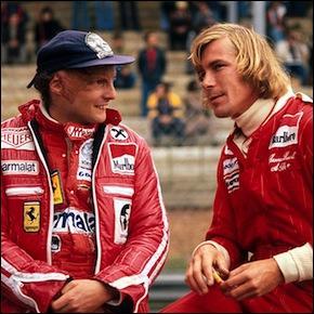 Cinéma - Quel biopic de Ron Howard sorti en 2013 raconte la rivalité entre Niki Lauda et James Hunt ?