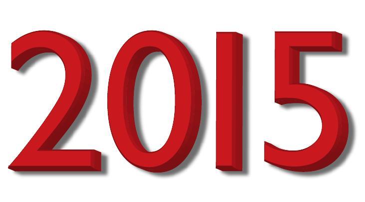 Petit retour sur l'année 2015