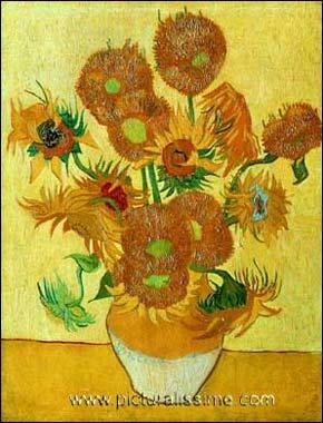 Van Gogh est connu pour avoir peint une série de tableaux représentant des tournesols ? De combien de toiles est constituée cette série ?