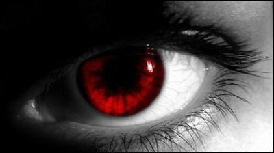 Quand un loup-garou a les yeux rouges, que cela signifie-t-il ?