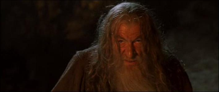 """À qui Gandalf s'adresse-t-il lorsqu'il prononce la très populaire réplique """"Vous ne passerez pas ! """" ?"""