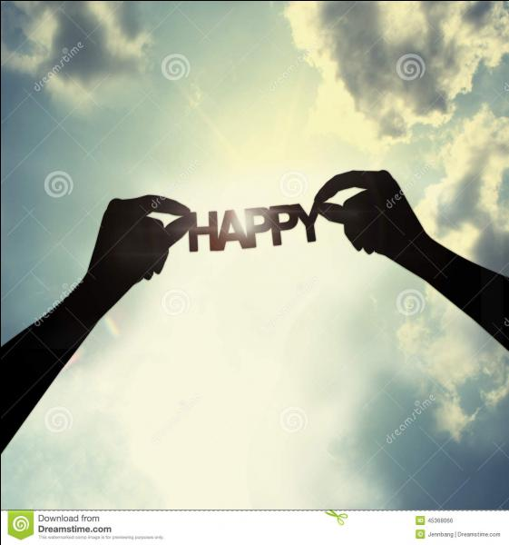 """Qui nous souhaitait """"Tout le bonheur du monde"""" ?"""