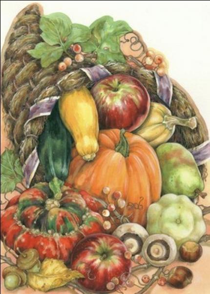 Quel fruit ou légume ne voit-on pas sur cette image ?