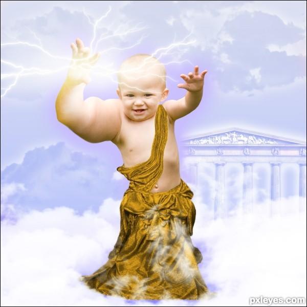 Lequel des dieux grecs ce nourrisson peut-il représenter ?